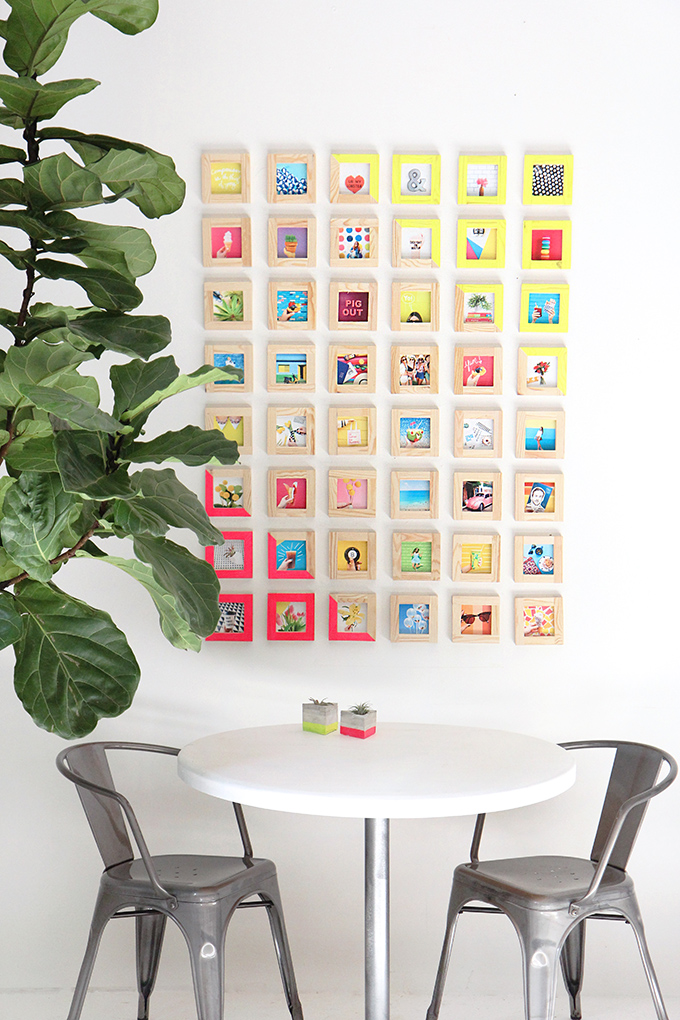 MY DIY | Tiny Picture Gallery Wall