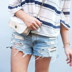 MY DIY | Distressed Denim Shorts