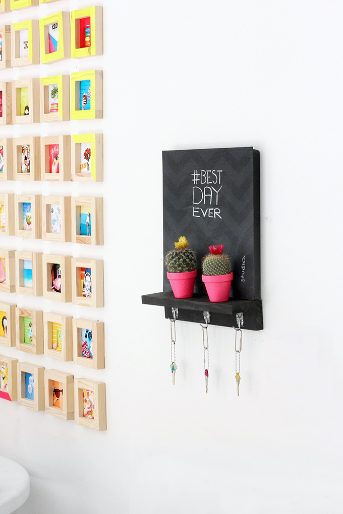 » MY DIY | Chalkboard Key Holder
