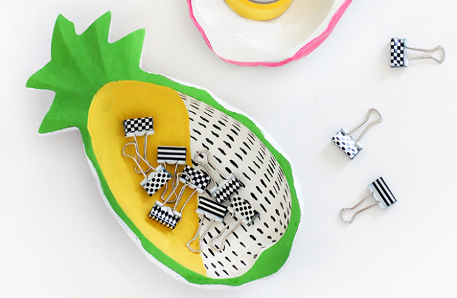 DIY MAKEOVER | Wooden Pineapple Bowls