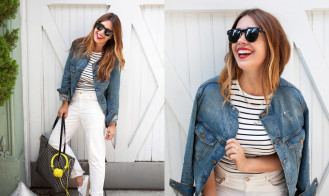 MY STYLE | DIY DISTRESSED DENIM
