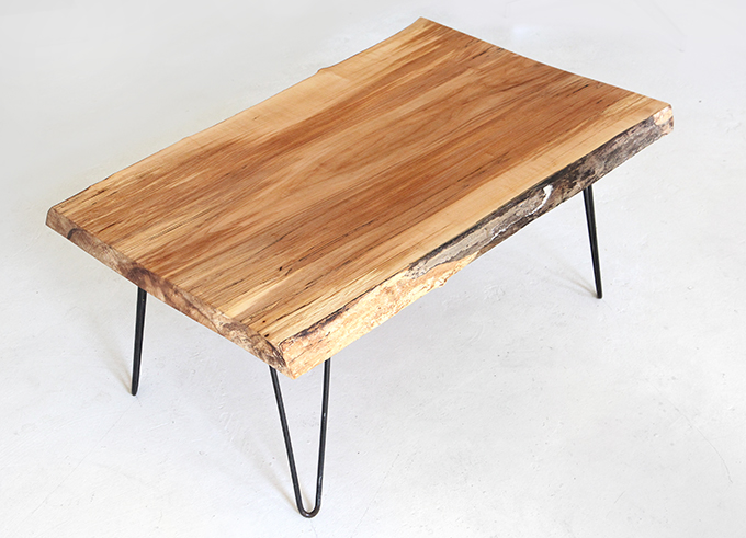 New ispydiy coffeetable4 Modern - Contemporary tree slice coffee table