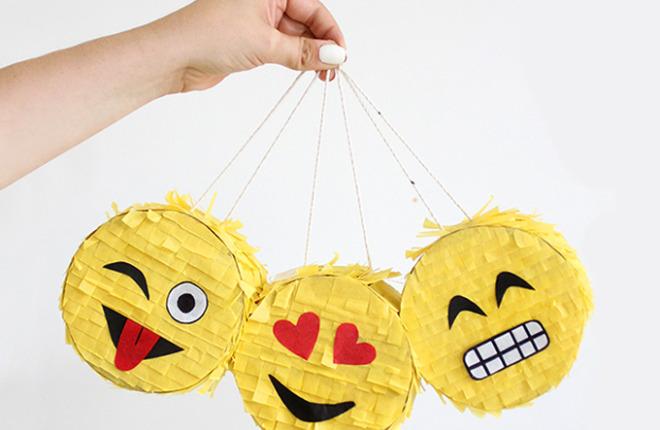 MY DIY |Mini Emoji Piñata