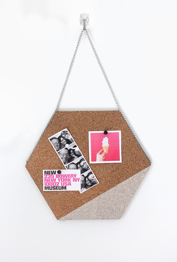 187 My Diy Hexagon Cork Memo Board