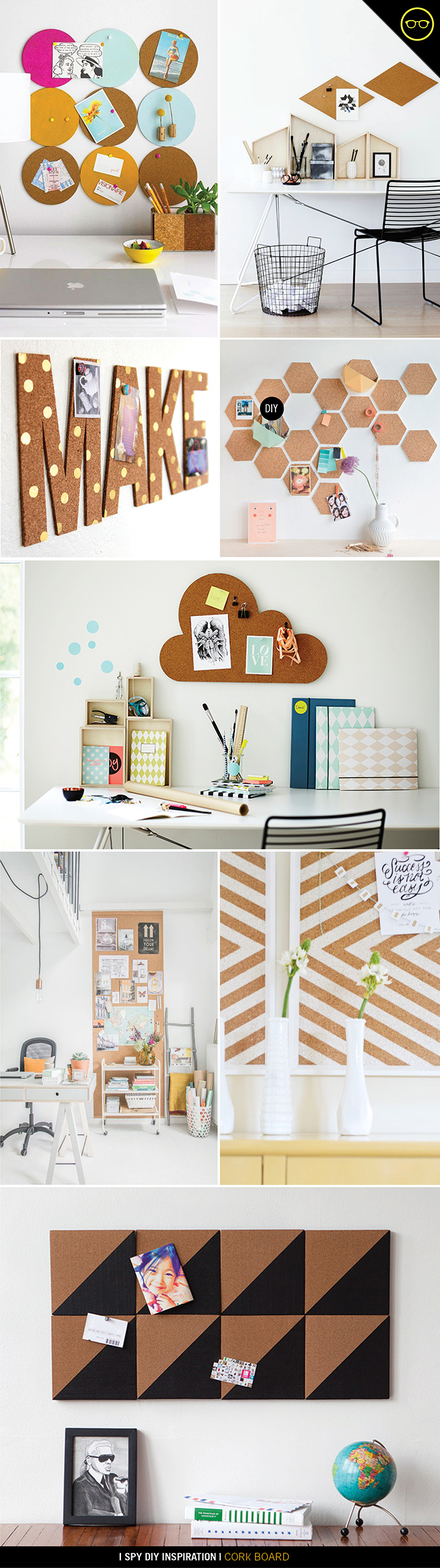 INSPIRATION Cork Boards I Spy DIY Bloglovin