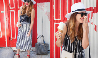 MY OUTFIT | Stripes on Stripes