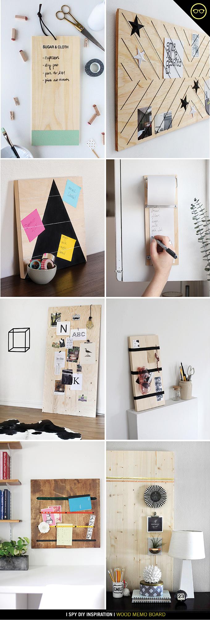 Diy Inspiration Wood Memo Board