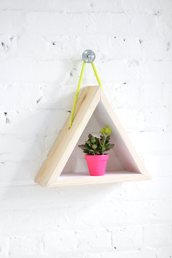 Triangle Shelves Shops: Diy triangle wall shelves. Triangle shelf. .