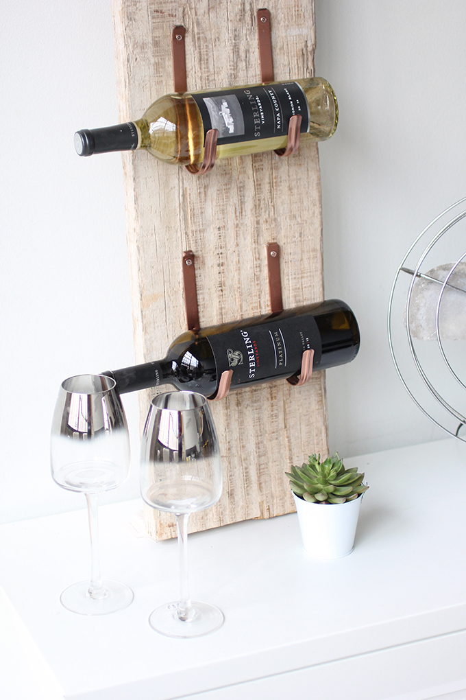 My Diy Barn Wood Wine Rack
