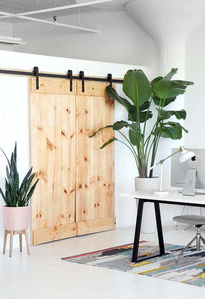 My Diy Double Sliding Barn Door I Spy Diy Bloglovin