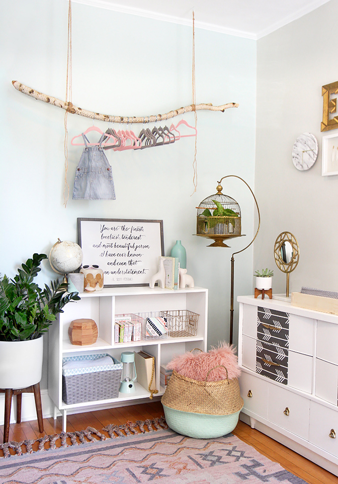 spy diy design baby girl nursery makeover