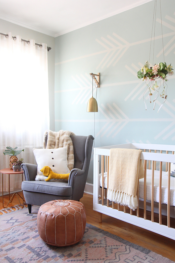 Baby Boy Room Design Pictures: Baby Girl Nursery Makeover