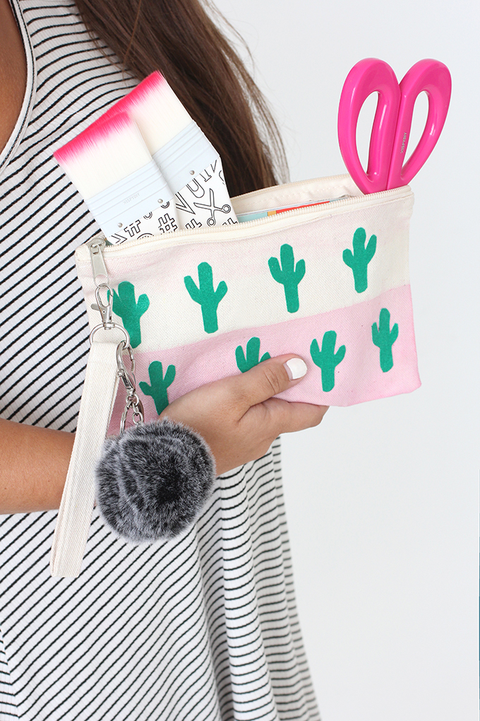 Cheap DIY Gifts to Make For Friends | DIY Cactus Canvas Bag | BFF Gift Ideas for Birthday, Christmas | Cool Crafts For Teens and Girls