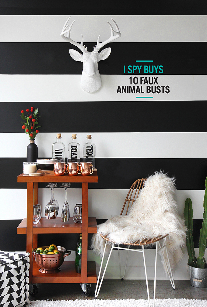 I SPY BUYS | 10 Faux Animal Busts