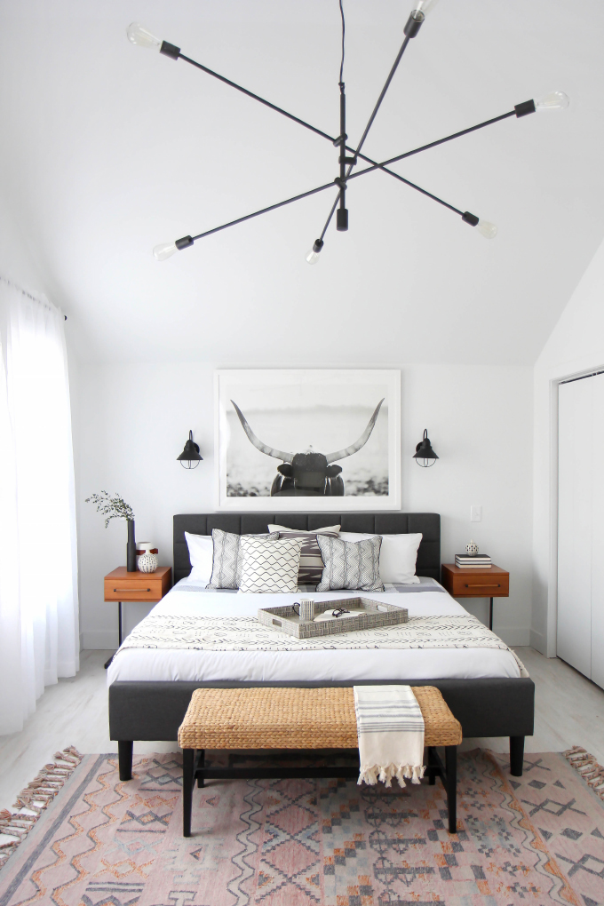 Before after master bedroom ep 1 my flippin friends for Modern master bedroom ideas pinterest