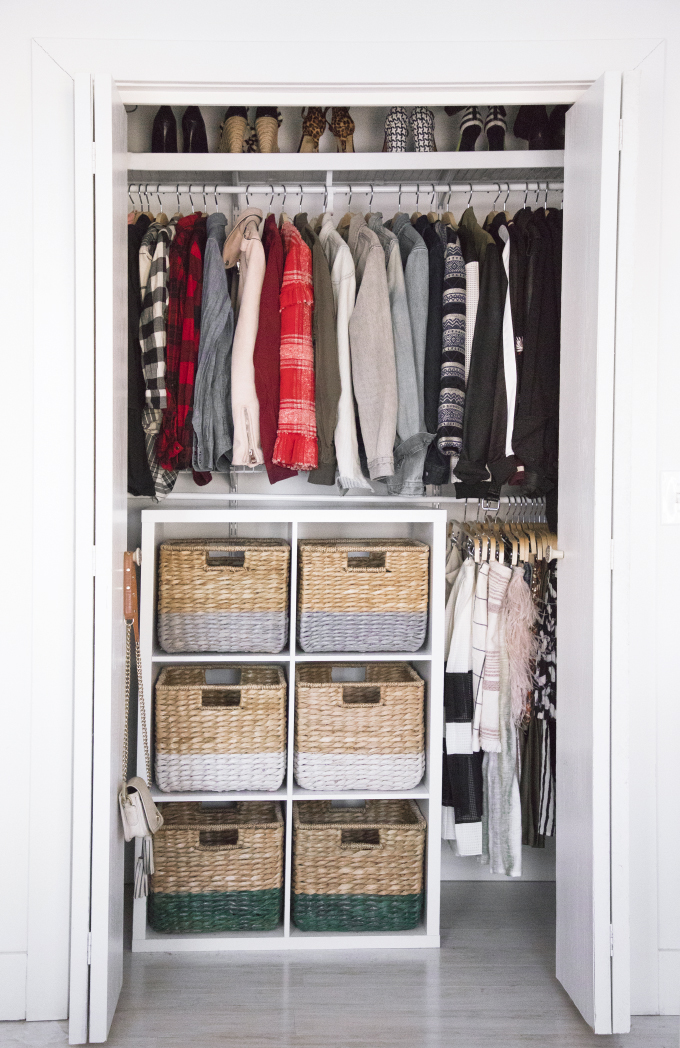 » DIY ORGANIZATION | Color-Coded Closet Makeover