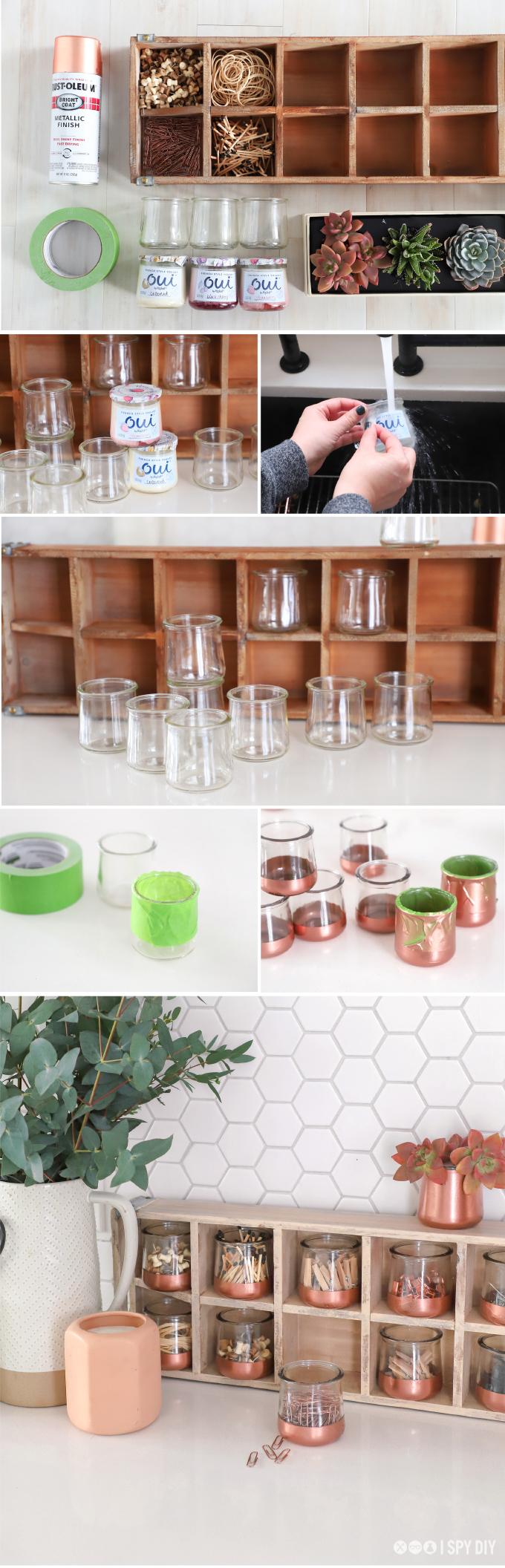 Diy Organization Glass Pot Catch All I Spy Diy
