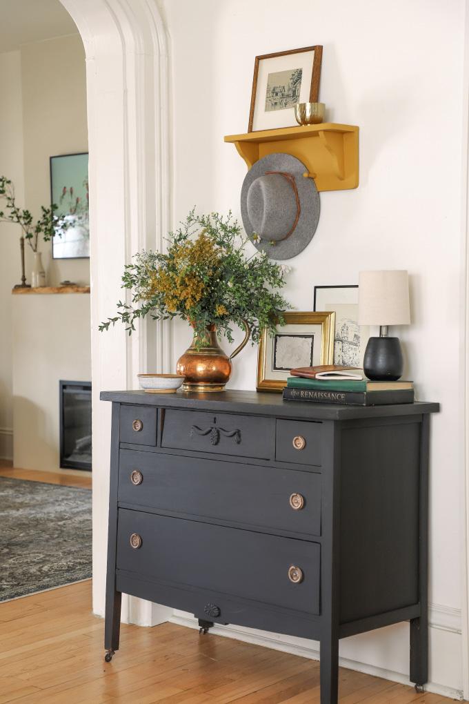 Milk Paint Vs Chalk Painted Dresser I, Milk Paint Furniture