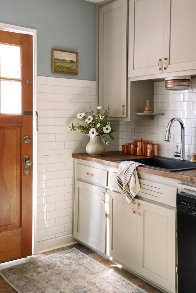 Budget Kitchen Renovation With Diy Shaker Painted Cabinets I Spy Diy